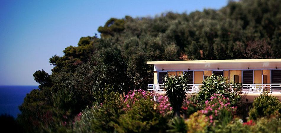 Eco-Friendly Accommodation in Mirtiotissa, Corfu